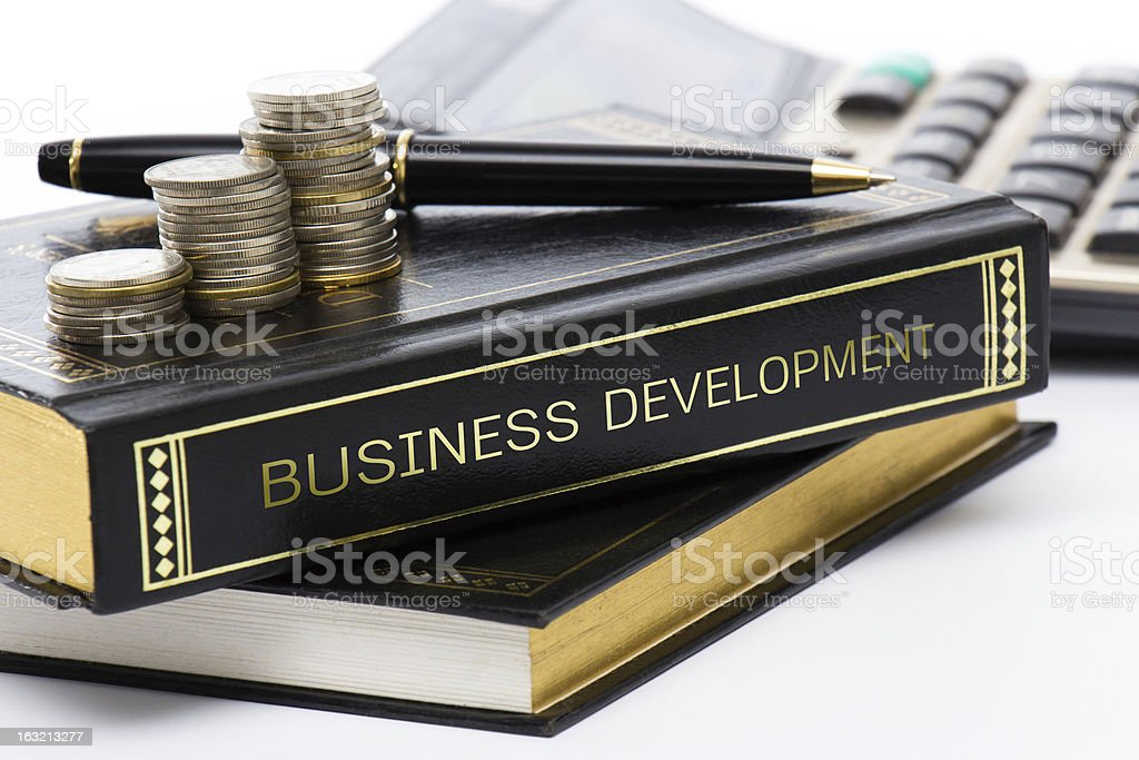 Business book royalty-free stock photo