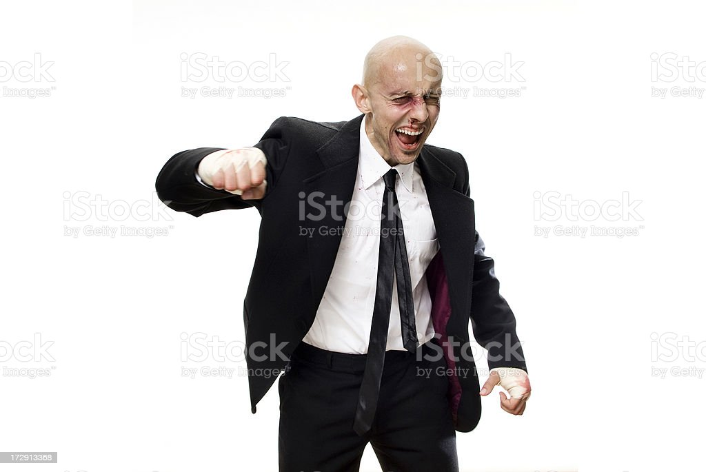 Business Boxer Series royalty-free stock photo