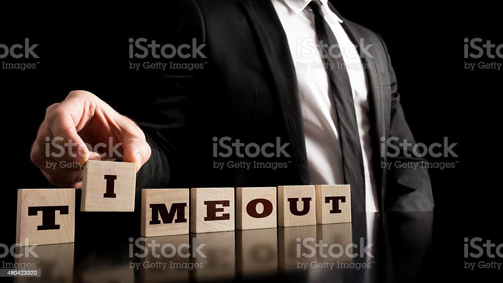 Business Break Concept stock photo