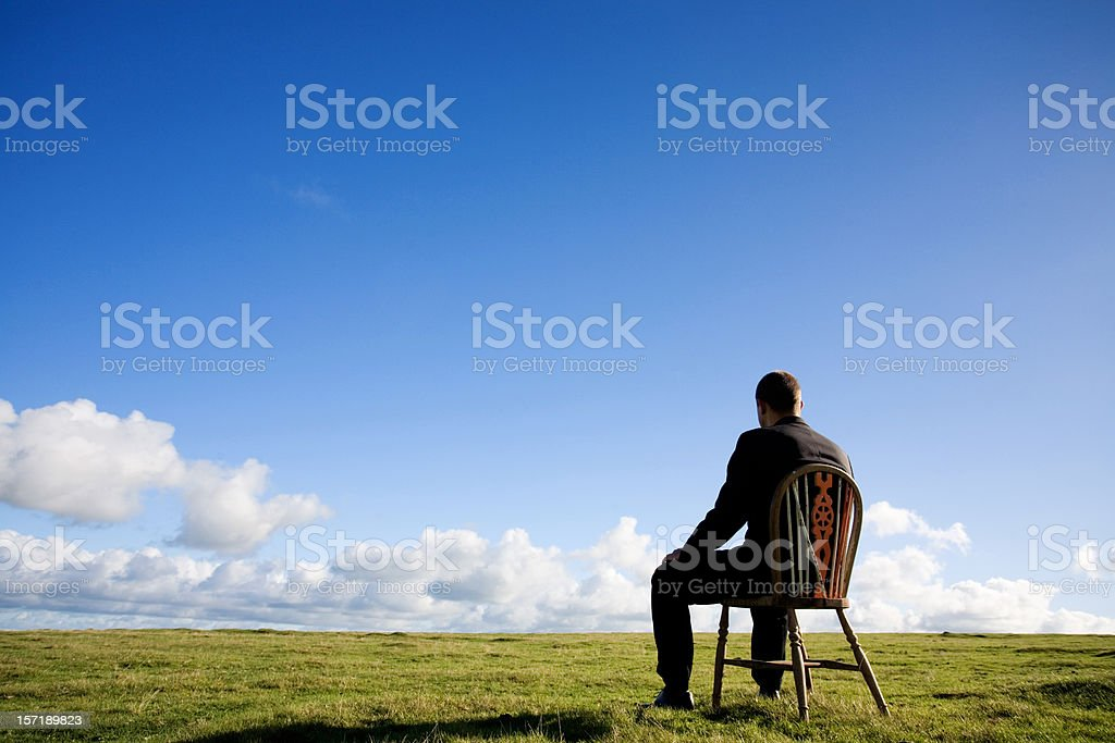 Business break stock photo