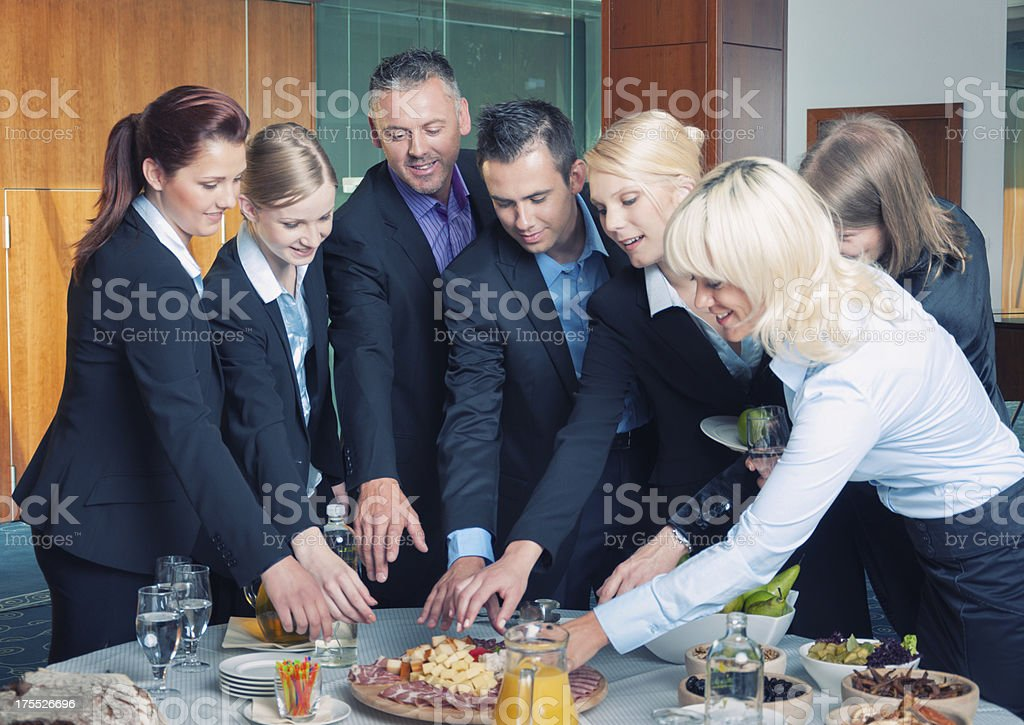 Business break royalty-free stock photo