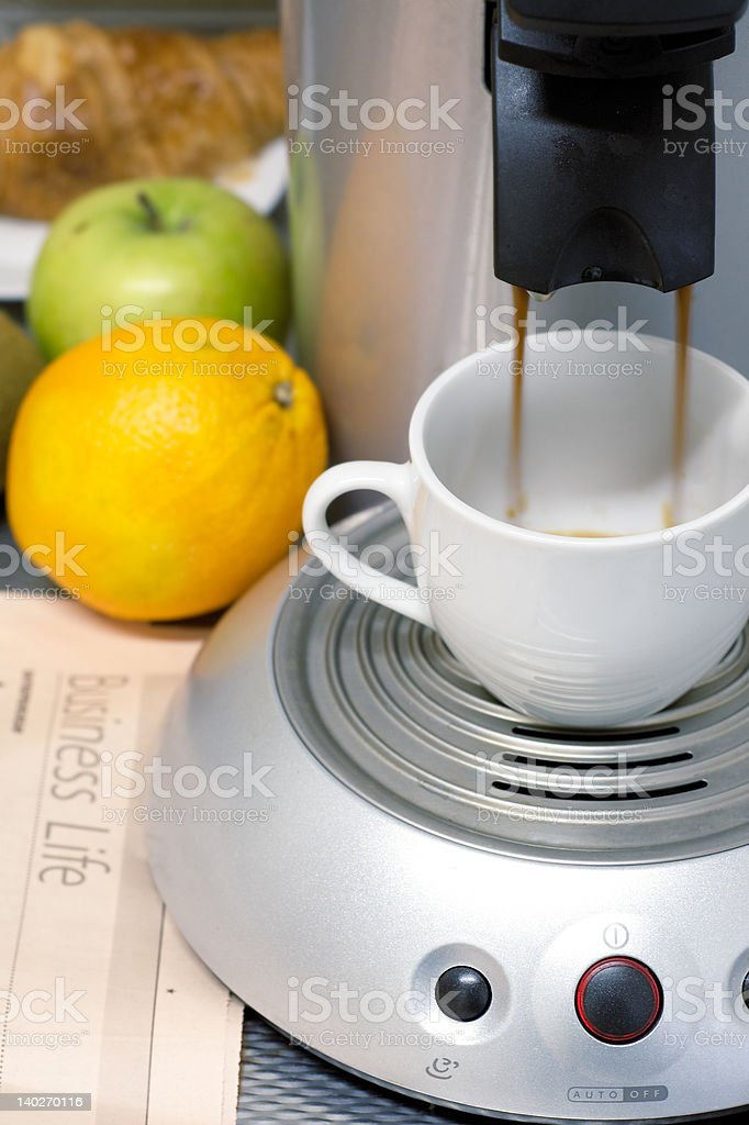 business breakfast concept royalty-free stock photo
