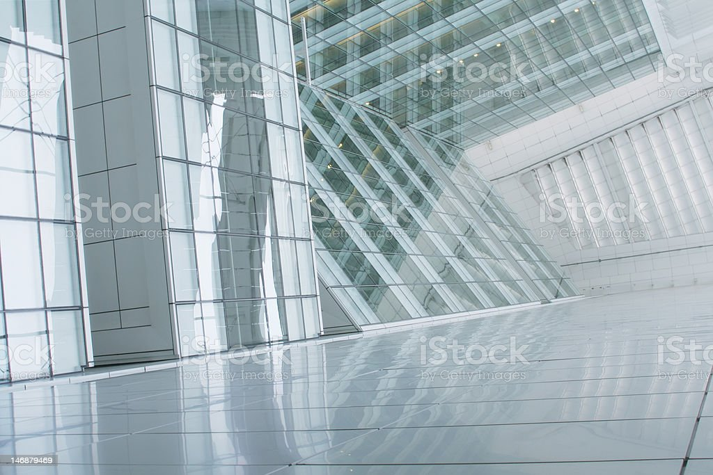 Business Building Abstract Background royalty-free stock photo