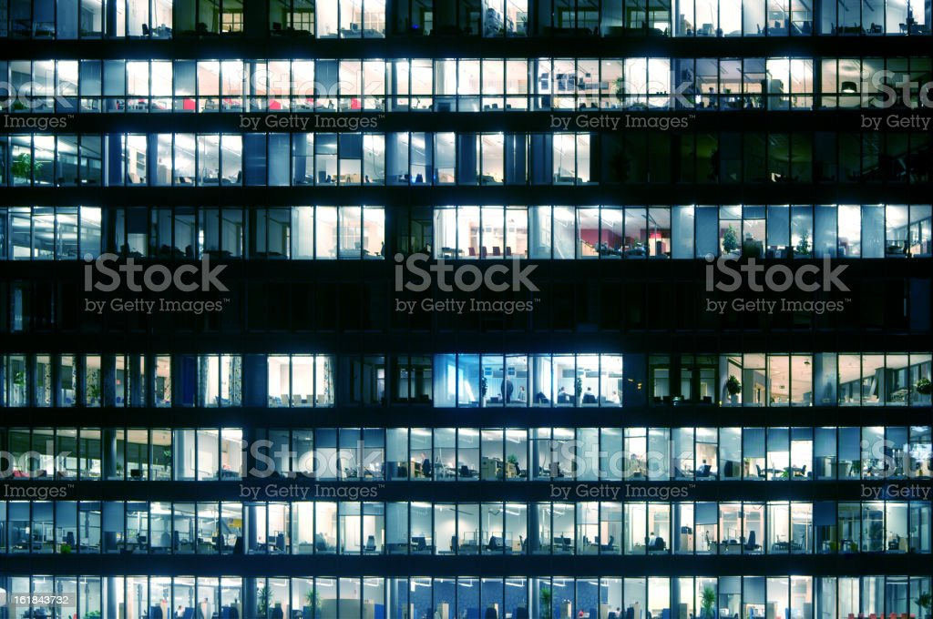 Business building stock photo