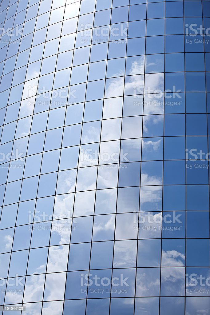 Business Building Reflections royalty-free stock photo