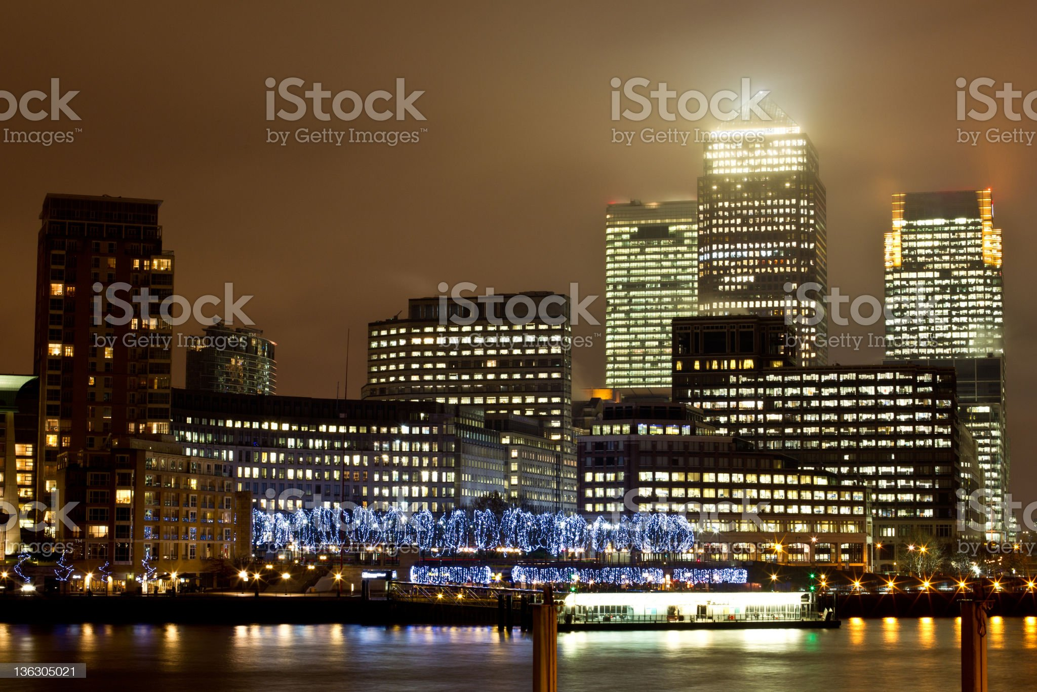 Business Buildings in London royalty-free stock photo