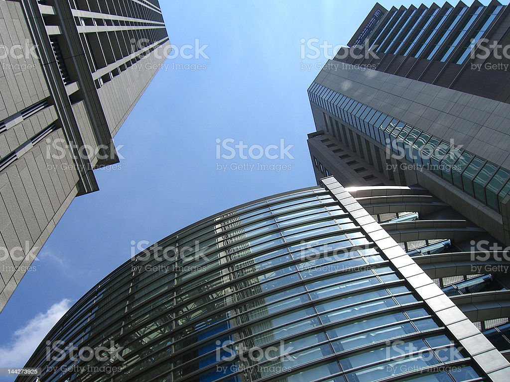 Business Buildings royalty-free stock photo