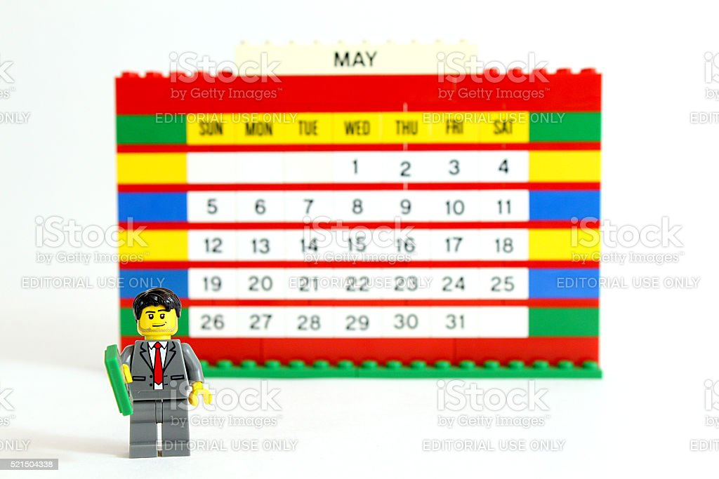 Business Calendar stock photo
