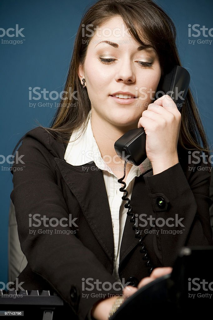 Business Calls royalty-free stock photo