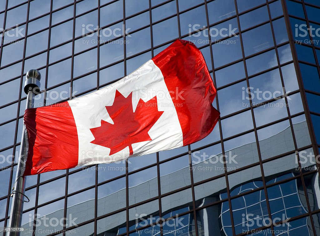 business canada stock photo