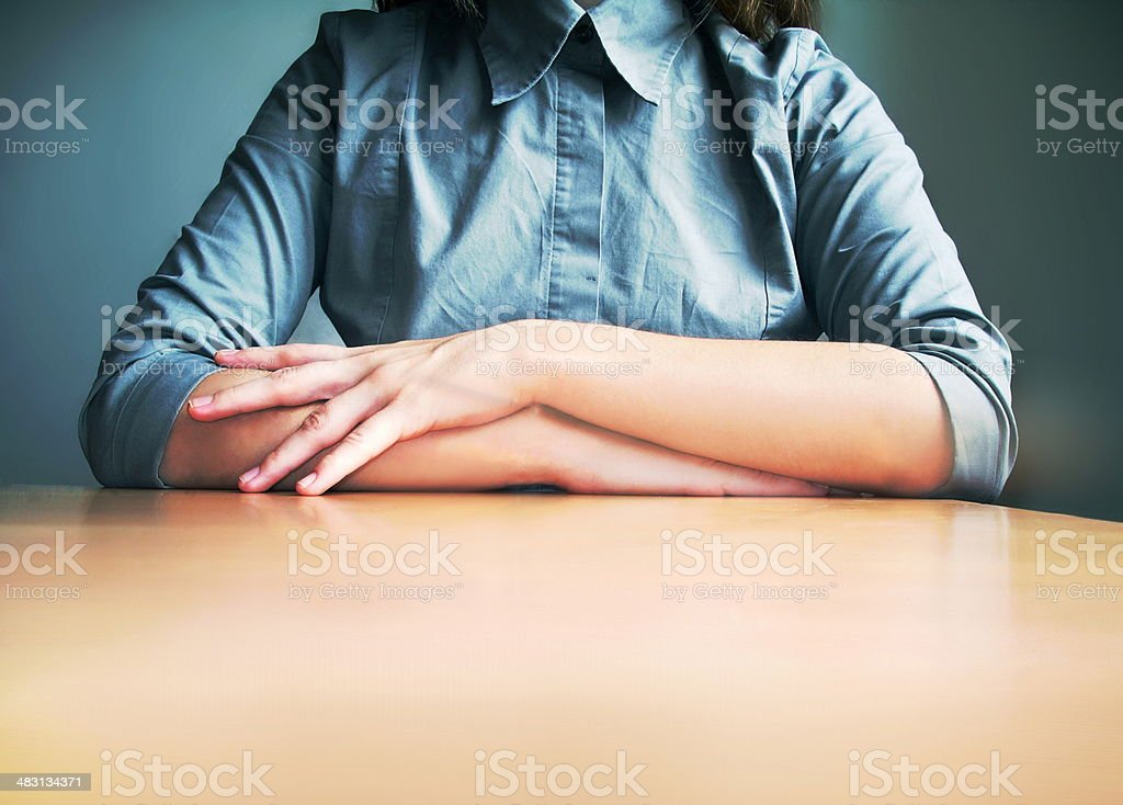 business candidate stock photo
