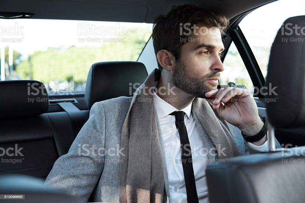 Business car stock photo