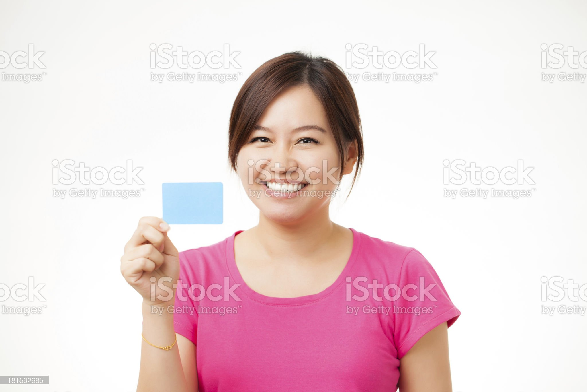 business cards and blank signs royalty-free stock photo