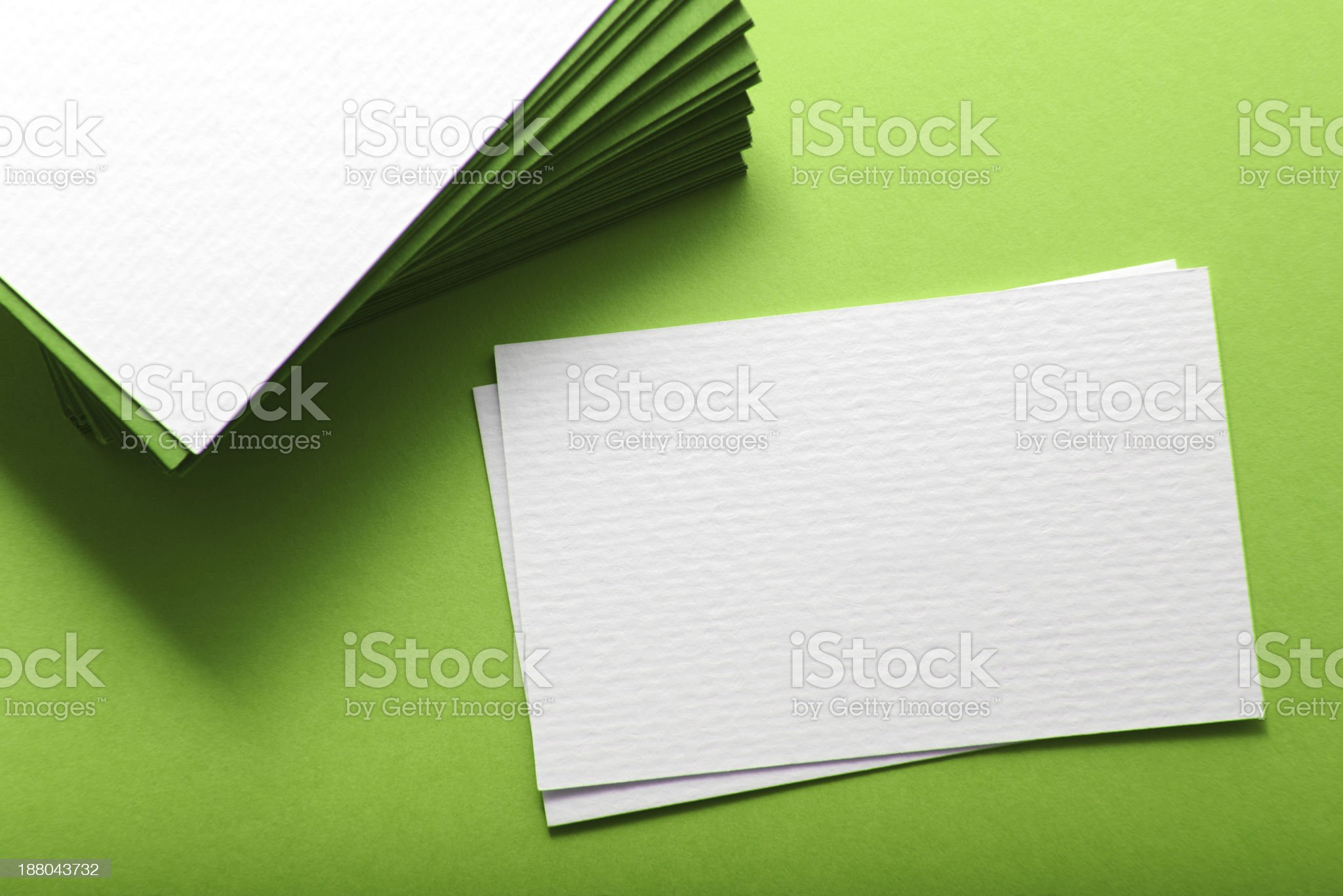 Business cards royalty-free stock photo