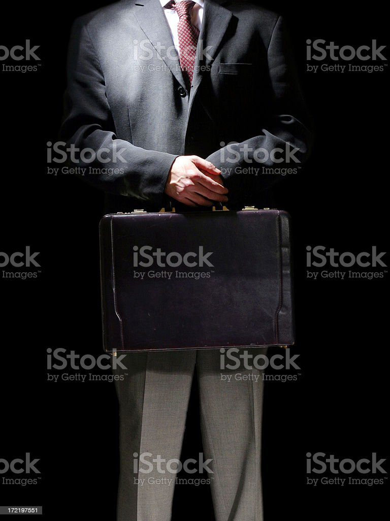 Business Case royalty-free stock photo