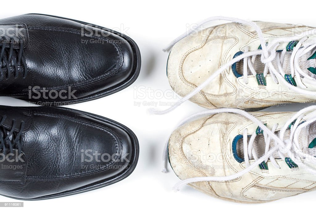 Business casual stock photo