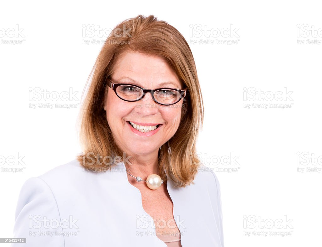 business caucasian woman stock photo