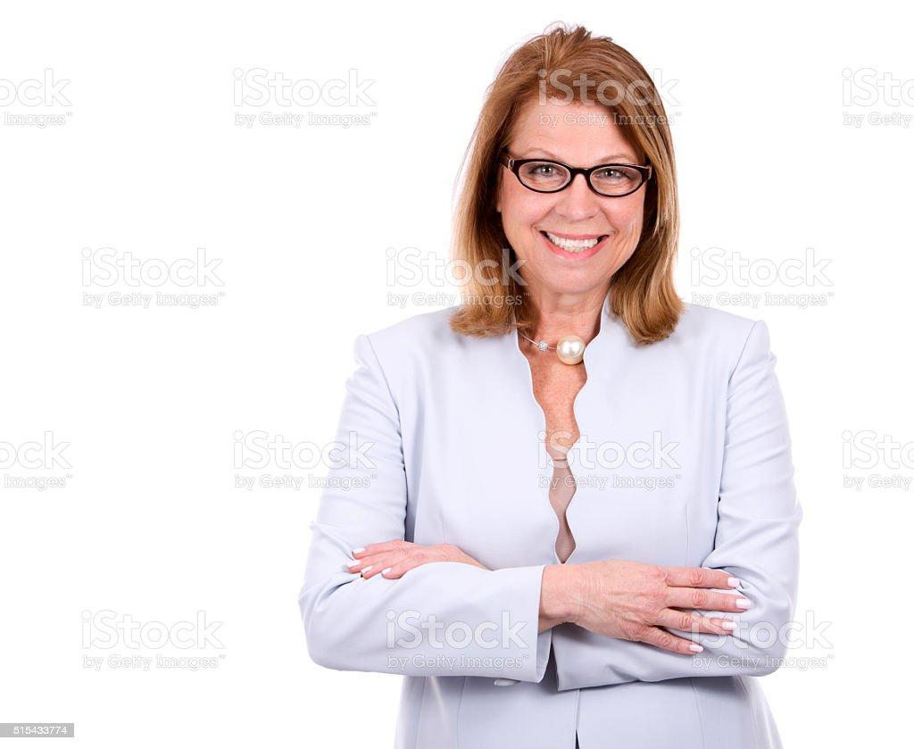 business caucasian woman stock photo