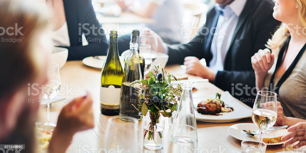 Business Celebrate Cheerful Enjoyment Festive Concept stock photo