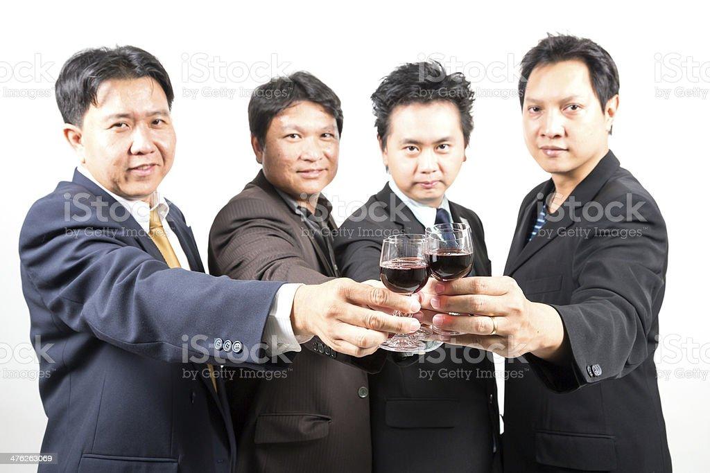 Business celebration royalty-free stock photo
