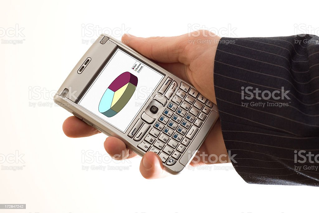 Business Cell Phone royalty-free stock photo