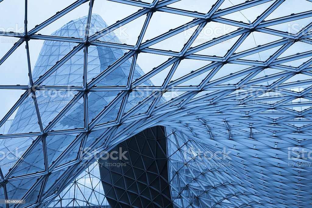 Business center royalty-free stock photo