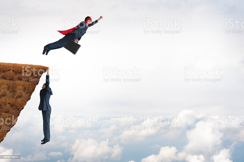 business challenge concept stock photo