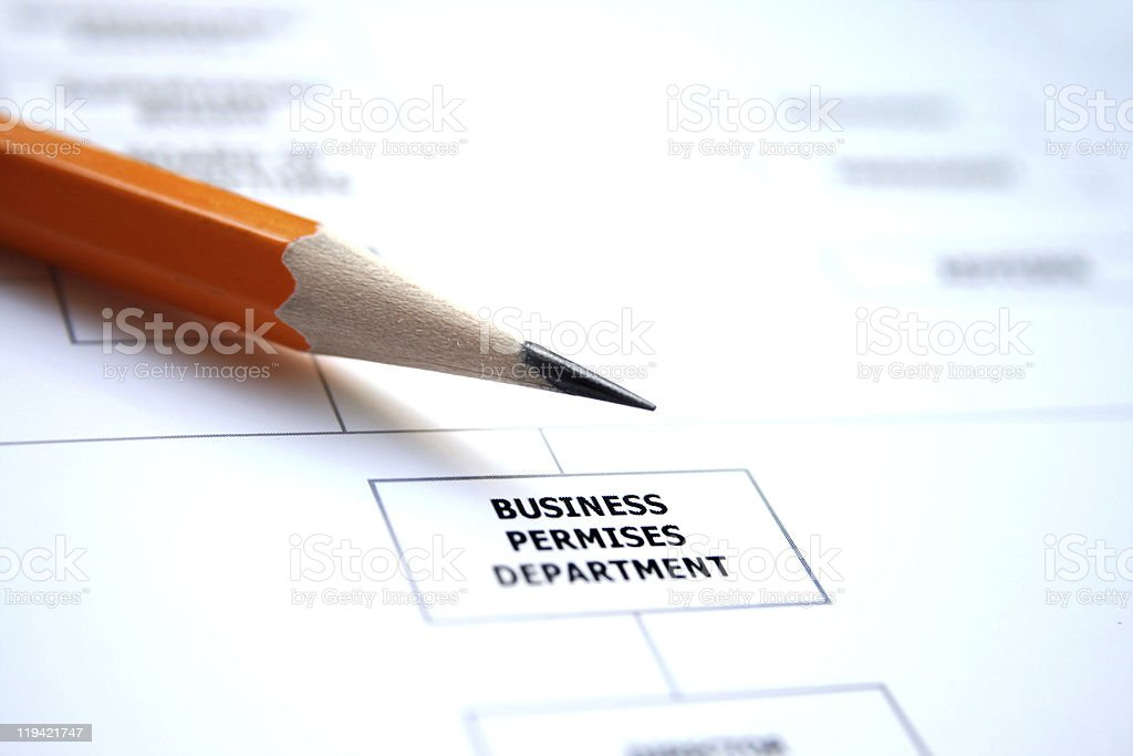 Business chart royalty-free stock photo