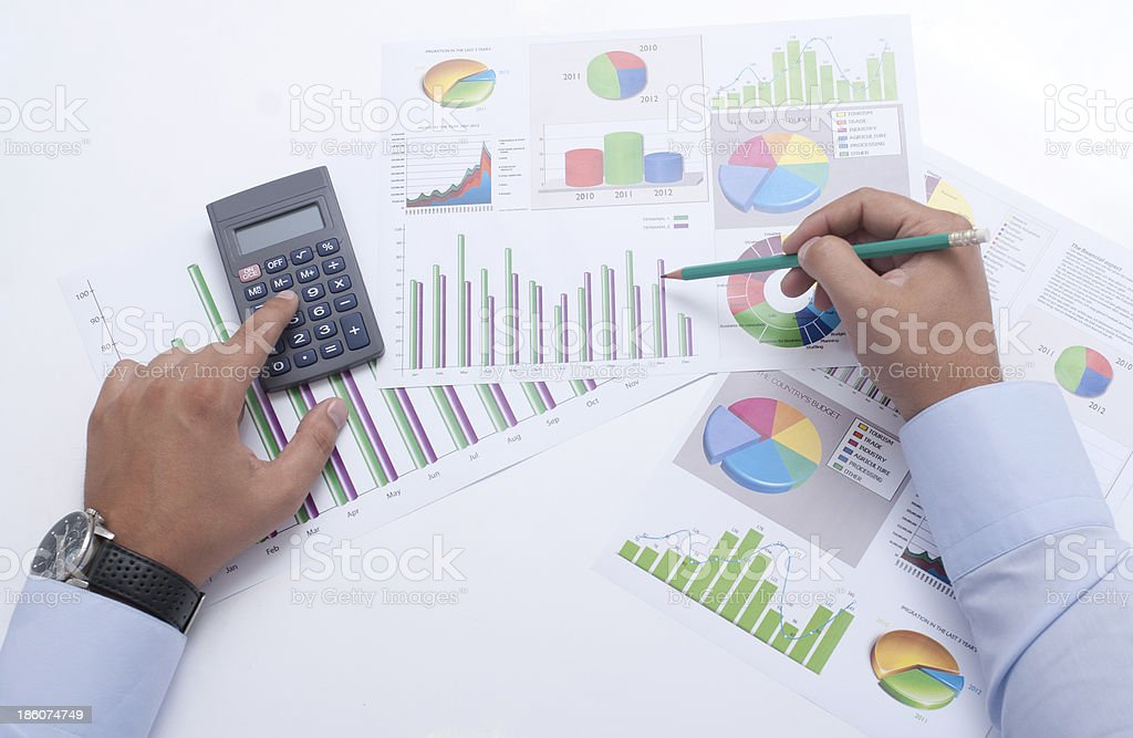 Business Chart's royalty-free stock photo