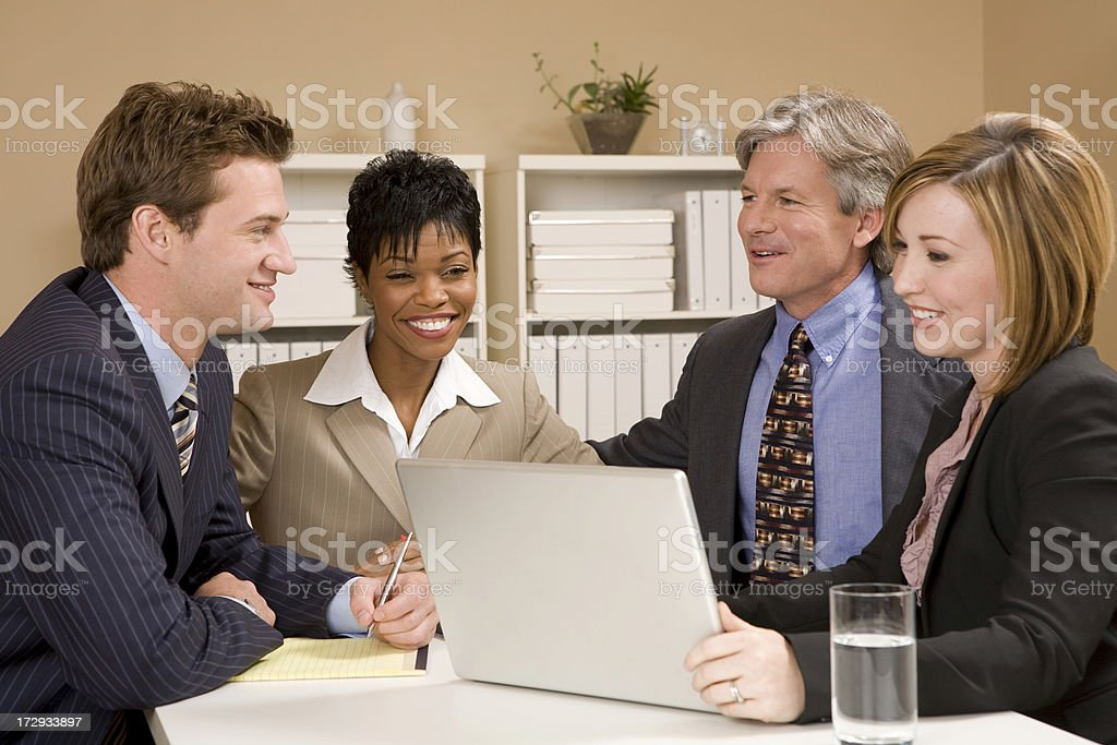 Business Chat royalty-free stock photo