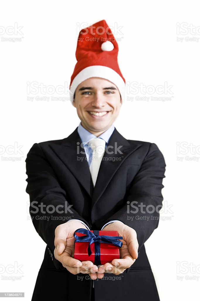 Business Christmas stock photo