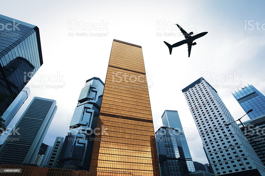 Business city royalty-free stock photo