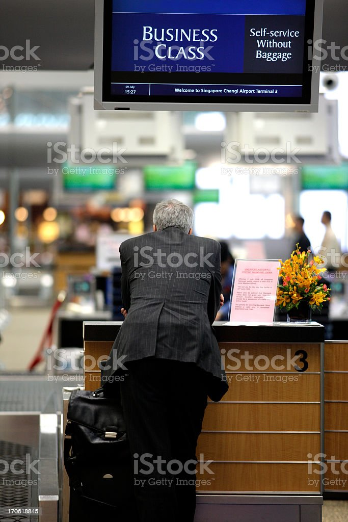 Business class. royalty-free stock photo