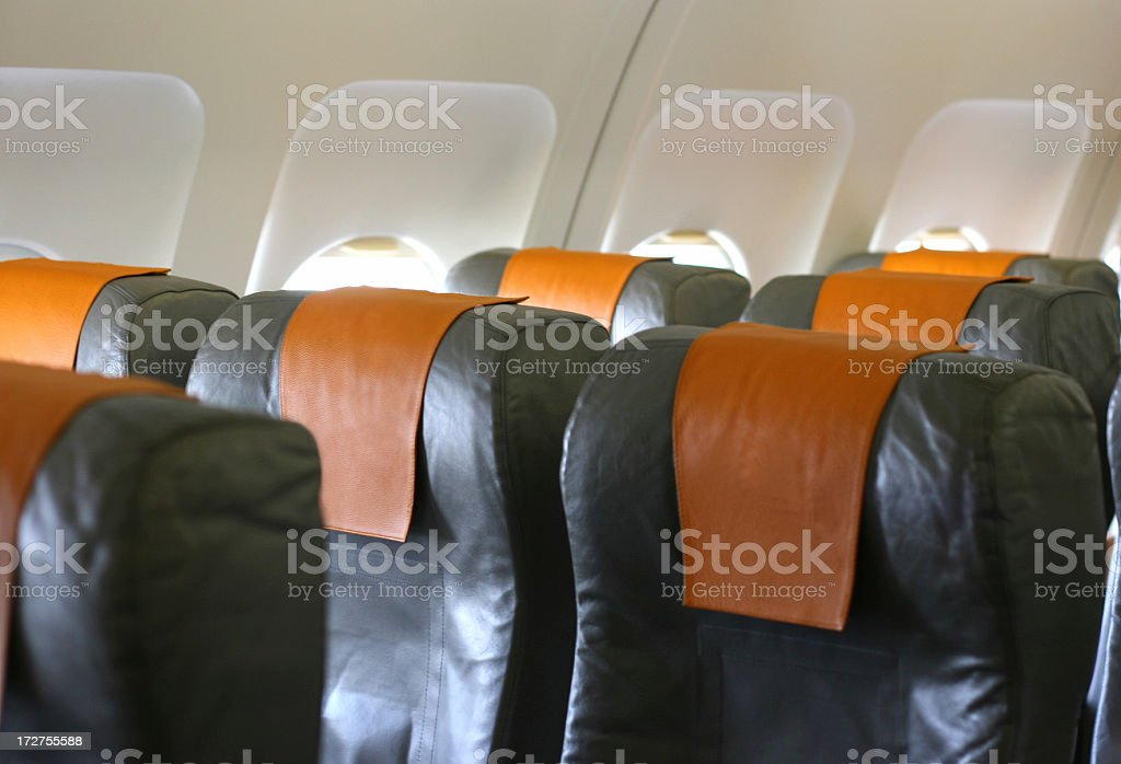 Business class royalty-free stock photo