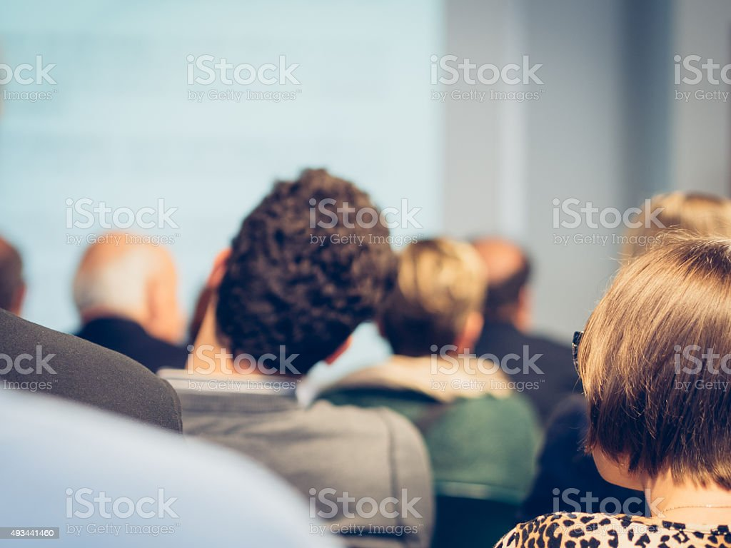 Business Classroom stock photo