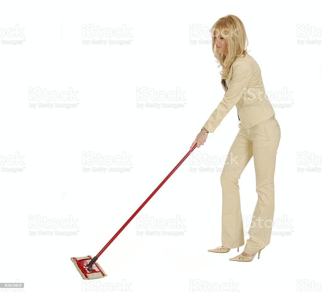 Business cleaning stock photo