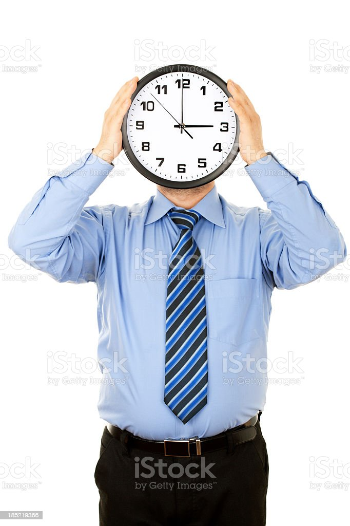 Business Clock Face stock photo