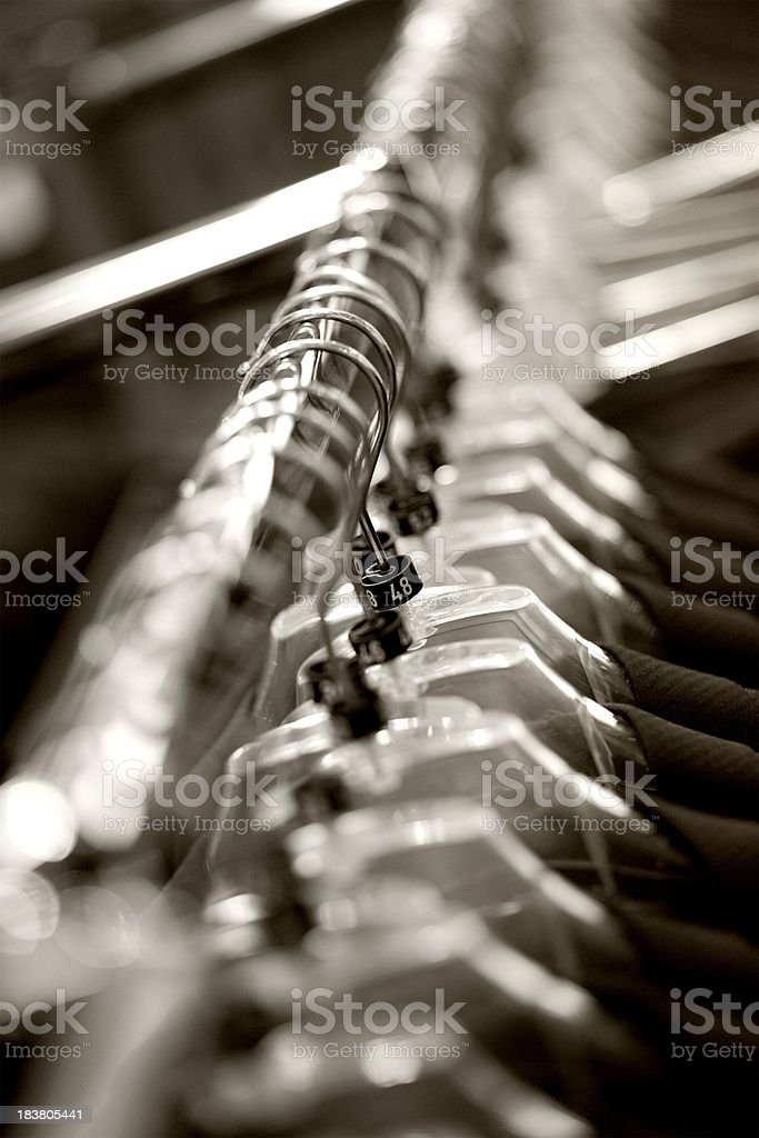 Business clothes stock photo