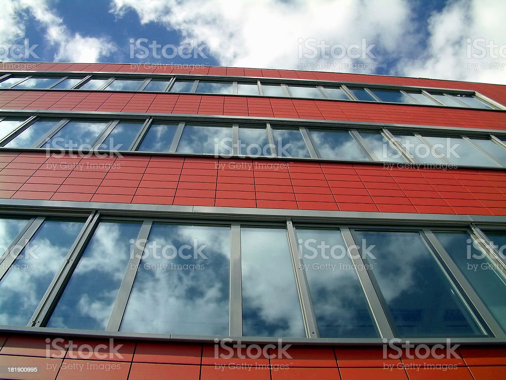 Business clouds stock photo