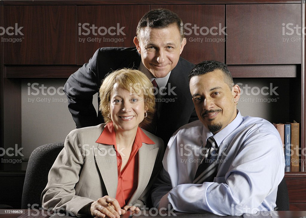 Business Cluster royalty-free stock photo