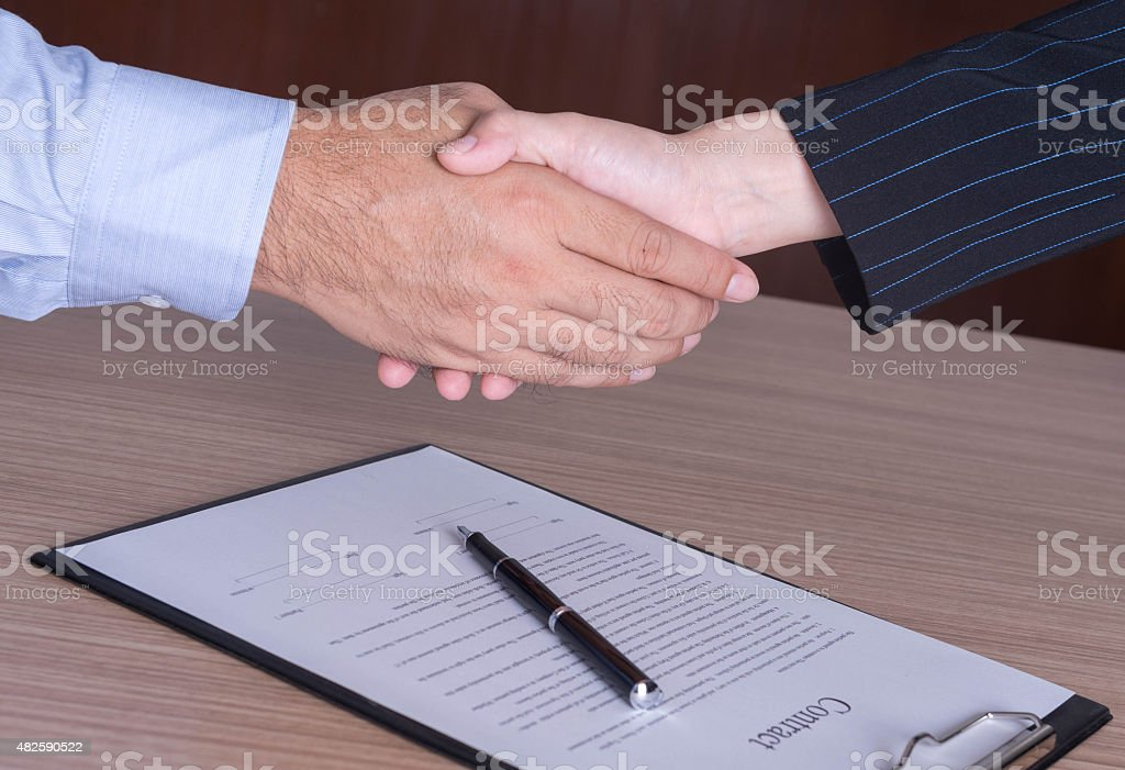 Business Collaboration stock photo