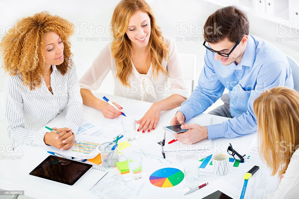 Business Collaboration. royalty-free stock photo