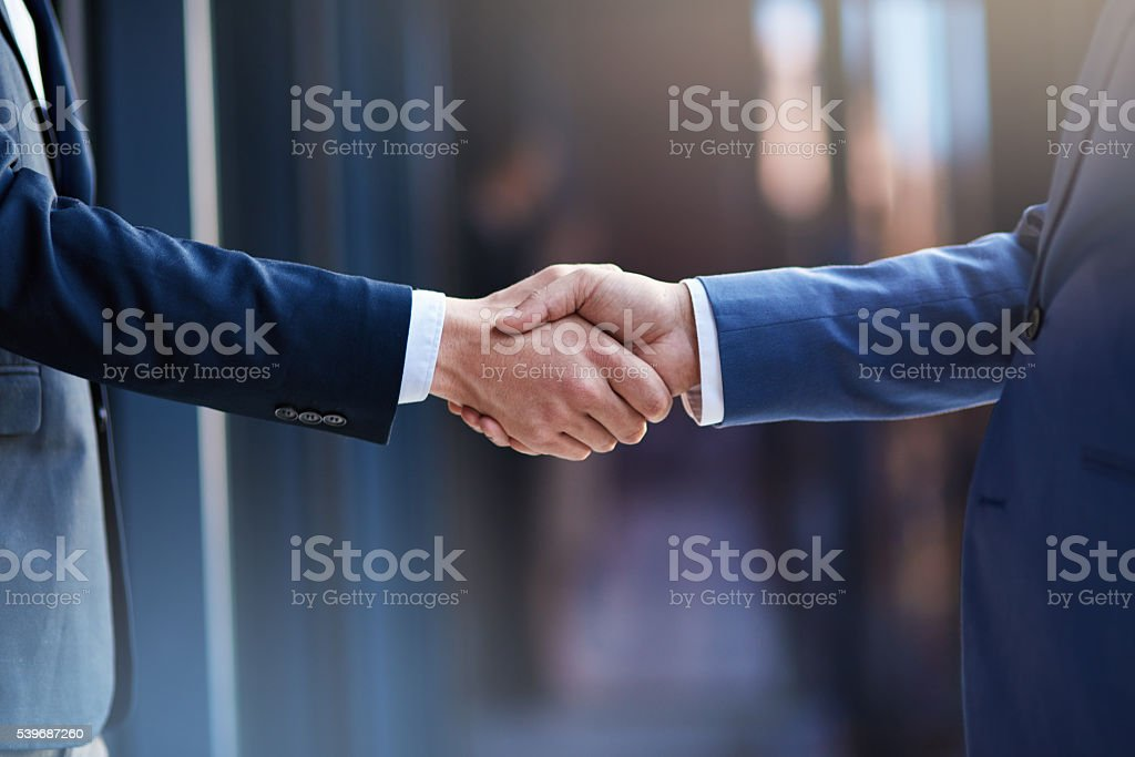 Business collaborations stock photo