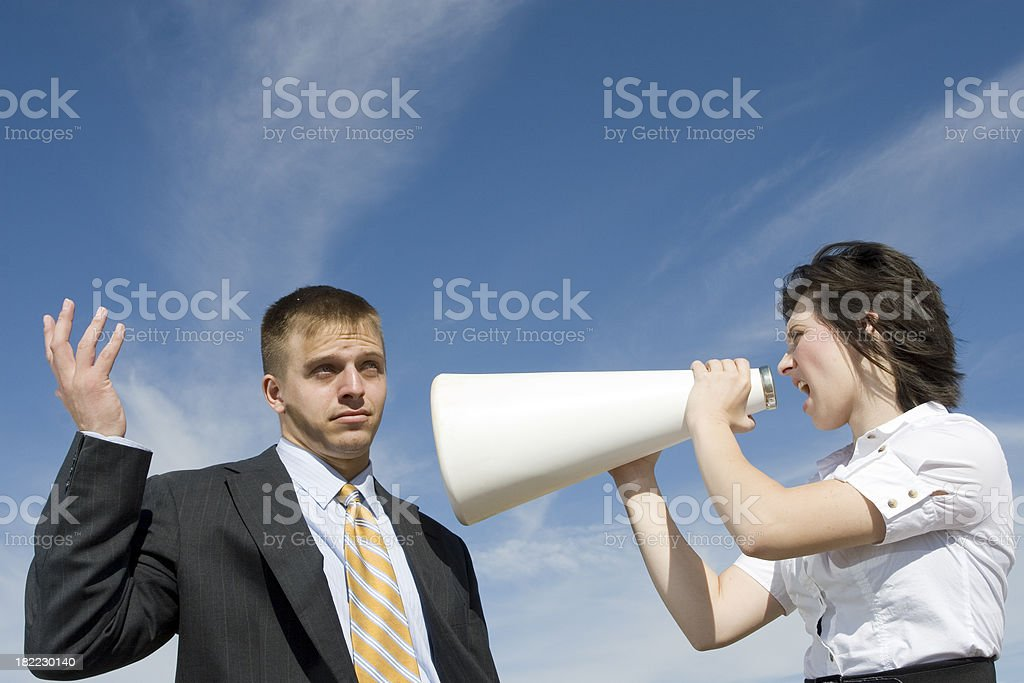 Business Communication Concept royalty-free stock photo