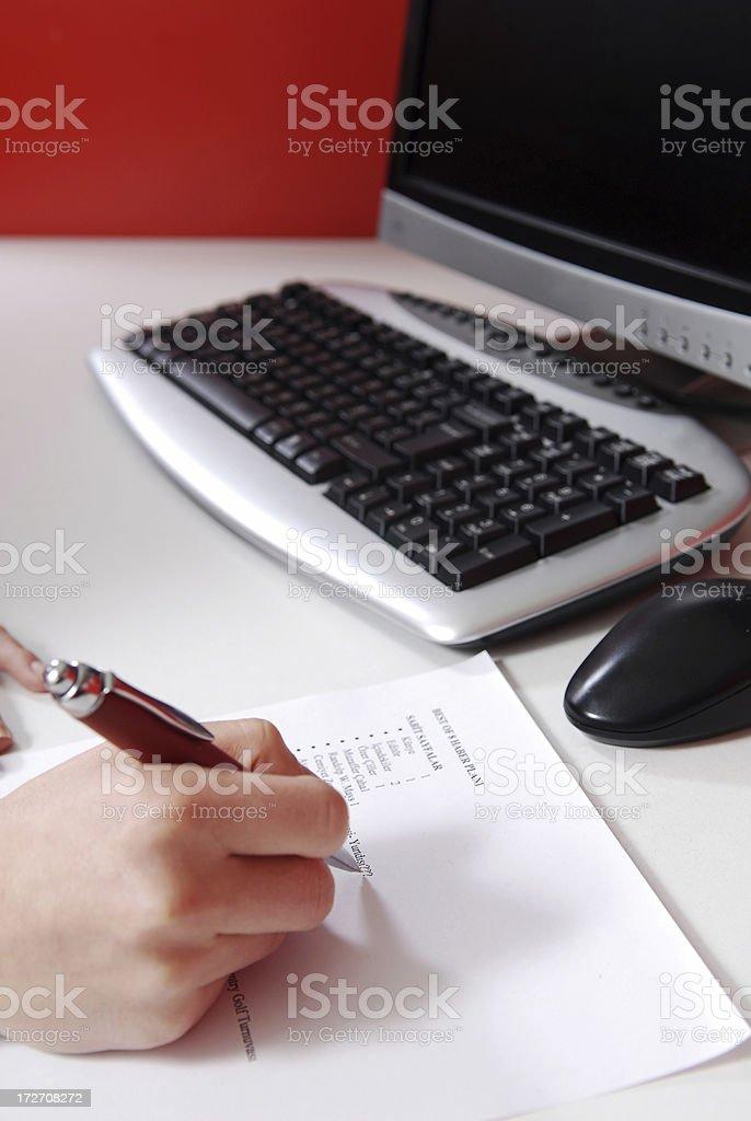 business communication series stock photo