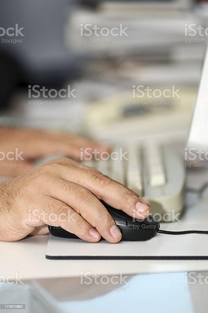 business communication technology series royalty-free stock photo