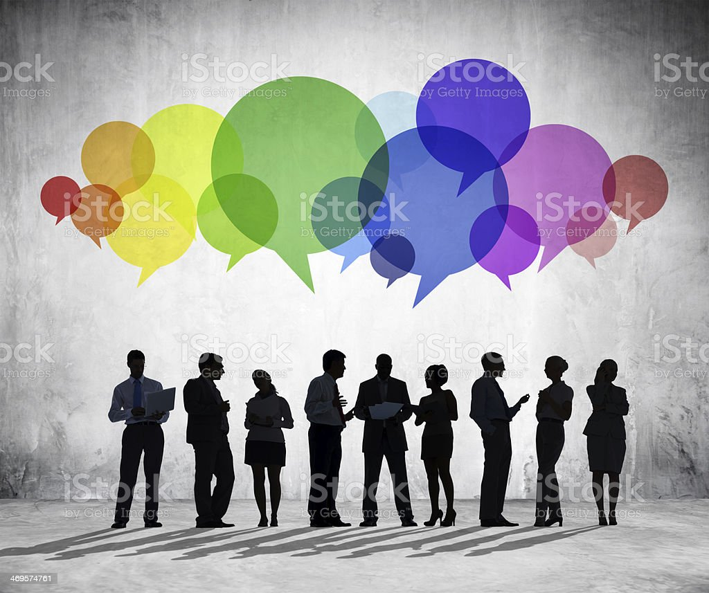 Business Communications Group stock photo