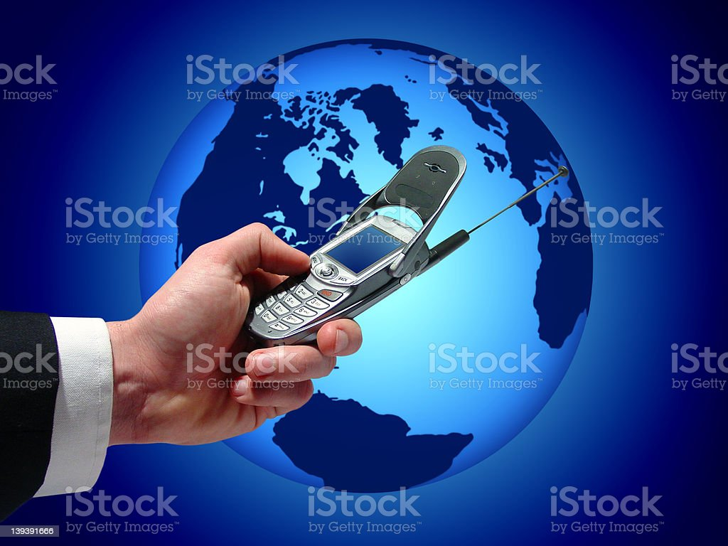 Business communications royalty-free stock photo