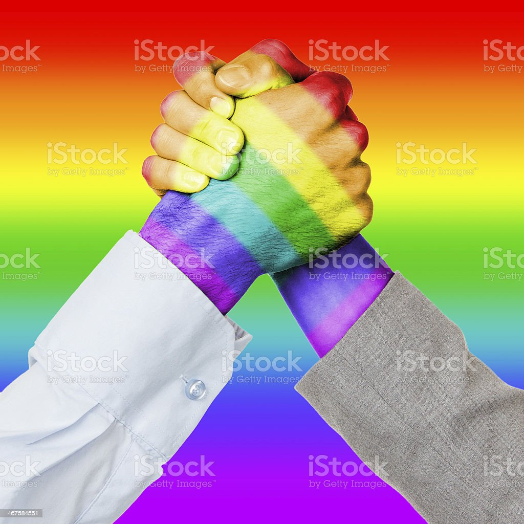Business competition or fight royalty-free stock photo