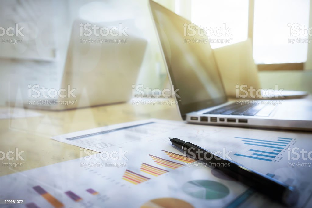 Business concept background. stock photo